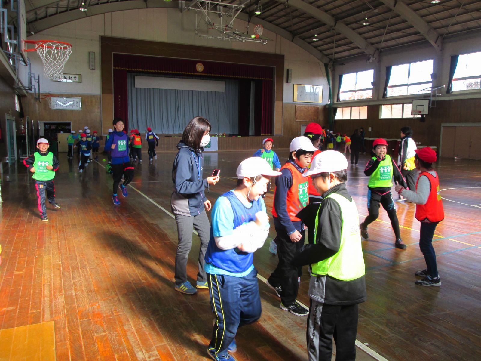 5年「スポーツ笑顔の教室」実施|ようこそ! 城下小 学校ブログへ