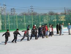 校内スケート大会(3~6年)