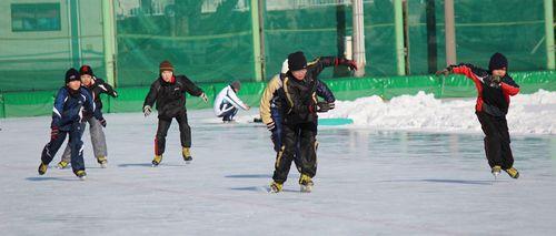 校内スケート大会