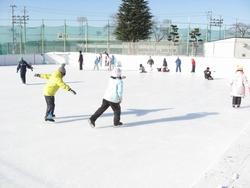 校内スケート大会(1・2年)